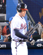 1B Freddie Freeman enters play Wednesday batting .327 with 22 HR in 303 at-bats