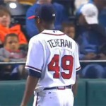 Julio Teheran struggled against the Mariners allowing 9 hits, 6 earned runs & walking 2.