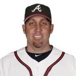 Aaron Harang leads the Braves and all of the National League with an 0.85 ERA. He leads teammate Ervin Santana by .01.