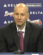 GM John Coppolella, architect of the Braves' rebuild, will seek a permanent manager to start the 2017 season.