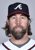 Braves knuckleballer R.A. Dickey appears to be staying put at the deadline