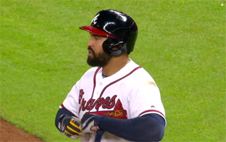 Despite solid offense, Matt Kemp struggled to stay healthy in a Braves uniform and weakened the outfield defensively