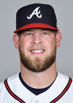 The Braves bullpen stands to benefit from a full season of a healthy (LHP) A.J. Minter